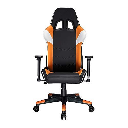 Silla para juegos Sillas de escritorio para oficin Racing estilo de juego silla ergonómica del asiento de cuero de alta Volver Racing Supervisor de escritorio de la computadora Silla de oficina