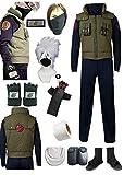 US size Anime Men's Set Items Cosplay Costume Halloween Full suit(Medium)