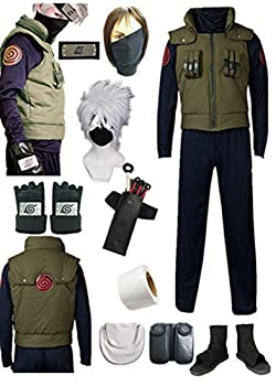 YOUYI US size Men s Vest Cosplay Costumes Adult Full suit(Small)