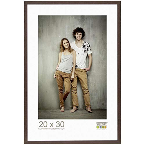 P1 Deknudt Frames S66KH1 Basic Cadre Photo avec Passe-Partout Bois//MDF Ch/êne 18 x 24 cm