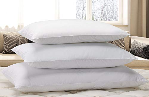 Courtyard by Marriott Down Alternative Eco Pillow - Soft, Eco-Friendly Pillow with 100% Recycled Fill - Exclusively for Courtyard - Standard (20' x 26')