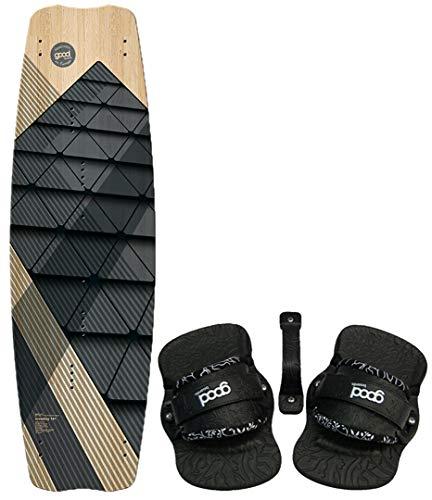 Goodboards CROSSBAY Kiteboard 137 2020 inkl. Standard Kite Bindung Black, L/XL