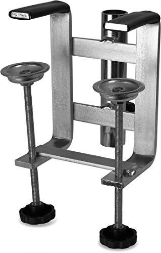 Schirmhalter fürs Boot Bootsschirmhalter Doppelausführung aus rostfrei verzinktem Stahl - ideal zum Bootsangeln, sehr stabil