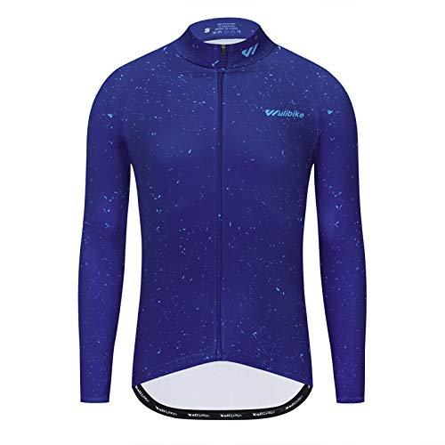 logas Fahrradjacke Thermo Herren Lava Mantel Winter MTB Softshell Trikot Atmungsaktiv