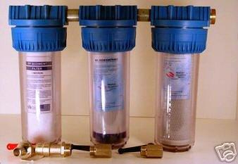 WORKHORSE 3er Komplett Anlage Wasserfilter Filter K3