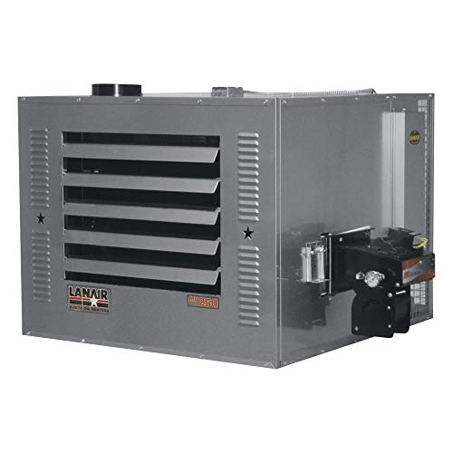 Find Bargain Lanair Waste Oil-Fired Thermostat-Controlled Heater Package - 250,000 BTU, 8,500 Sq. Ft...