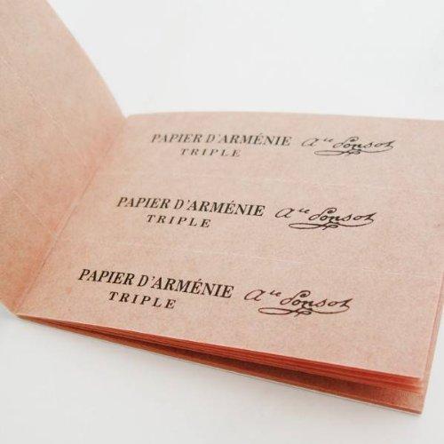 Papier d'Arménie Triple Armenisches Papier, 12Blatt