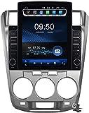 Pantalla Vertical de 9,7 Pulgadas Android 9.1 Coche Multimedia Player para Honda City 2009-2014, Soporte GPS Navegador Radio De Coche USB BT Mandos de Volante