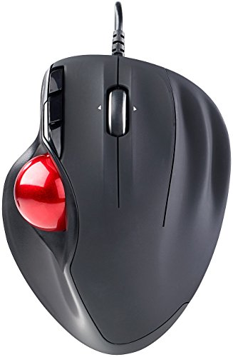 Mod-It Maus: USB-Laser-Trackball, 5 Tasten und 4-Wege-Scrollrad, 1.200 DPI (Lasermaus)