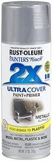 Rust-Oleum 249128 Painter's Touch Multi Purpose Spray Paint, 11-Ounce, Aluminum