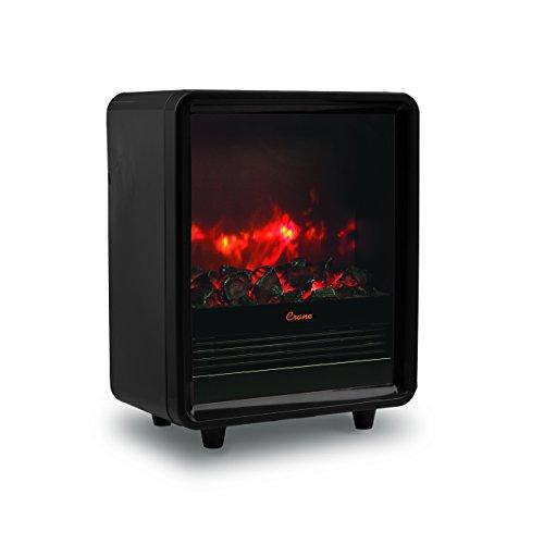 Crane Fireplace Heater, 750W/1500W, Realistic...