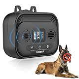 Anti Barking Device with LED Screen, Adjustable Ultrasonic Level Sonic Control Dog Bark Deterrent Outdoor Dogs Device Ultrasound Silencer No Bark Training Tool Control Device Security for Dogs