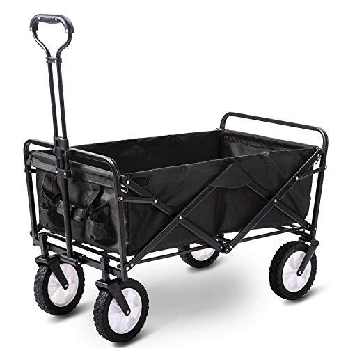 Gartenwagen Faltbarer Ziehwagen Handwagen Gartentransportwagen Zusammenklappbar