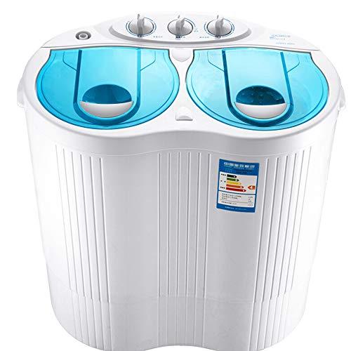 DIOE Mini Machine à Laver à cuve compacte portative avec Cycle de Lavage et d'essorage, capacité de 4,5 kg pour Appartements, dortoirs, Chambres universitaires, Anti-enroulement, Facile à Utiliser