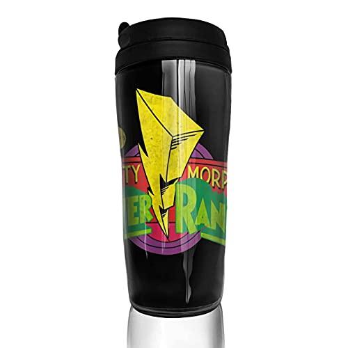 Mugs de voyage Mighty Morphin Power Rangers Tasse à café et tasse à thé de voyage flacon isotherme en acier inoxydable 350ml