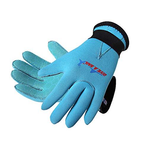 3mm Kinder Neopren Neoprenanzug Handschuhe Anti-Rutsch Tauchhandschuhe für Wassersport Schwimmen Surf Schnorcheln Segeln
