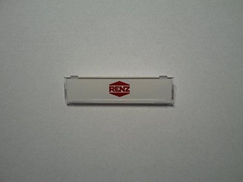 Renz Abdeckung für Tastermodul 62 x16 neues Modell