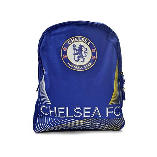Chelsea FC - Mochila diseño Matrix (Tamaño Único) (Azul)