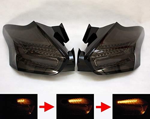 Focus MK3 2014-2018 LED Rückleuchten dynamische Blinker smoke matt
