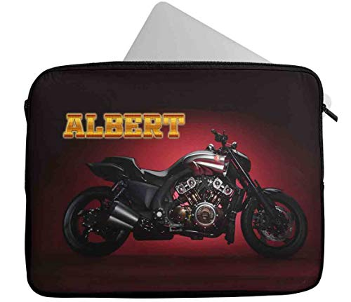 Personalised Any Name Gaming Design Laptop Case Sleeve Tablet Bag Chromebook Gift 36 (9-10 inch)