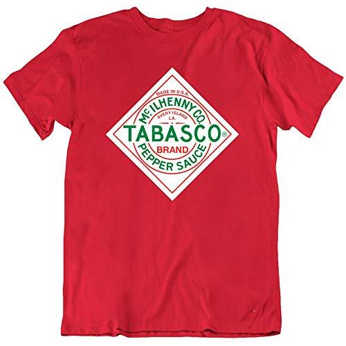 Tomato Tabasco Sauce Pepper Chili Hot Food T Shirt Red XXL