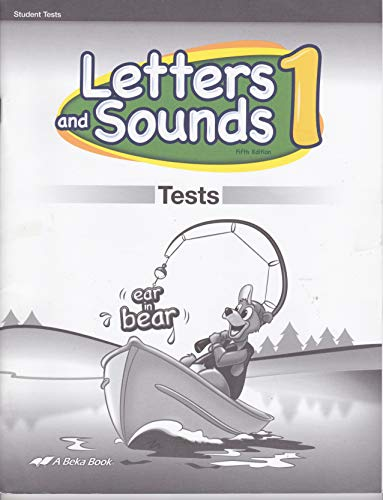 Letters and Sounds 1 Test Key