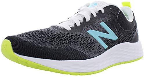 Zapatilla de correr New Balance Fresh Foam Arishi V3 para mujer, Negro (Negro/Limón), 38 EU