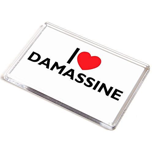 Unbekannt Jumbo-Magnet – I Love Damassine – Neuheit Essen & Trinken Geschenk