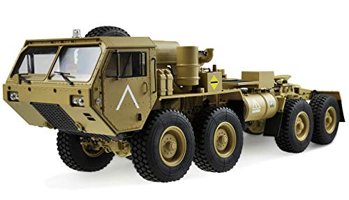 Amewi 22436 U.S. Militär Truck V2 8x8 1:12 Zugmaschine Sandfarben Militärtruck