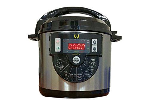 Robot de cocina Olla Programable GRAN FINN MAYOR F PLUS con Cubeta de cerámica y Voz 6 LITROS