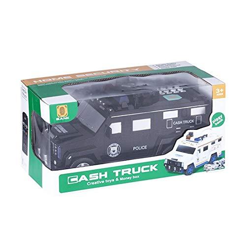 Hummer Money Transporter Dibujos Animados Automático Rolling ATM Música Huella Digital Gran Capacidad Hucha Niños Hogar Hucha