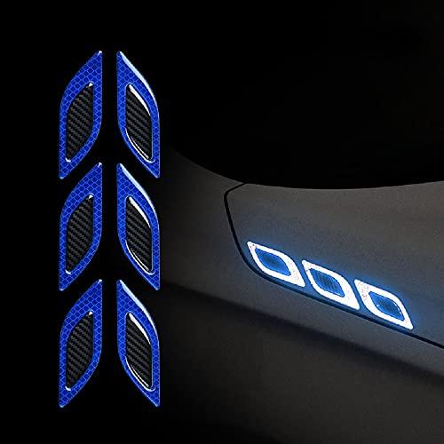WANLIAN Adesivi decorativi auto auto adesivi riflettenti di sicurezza auto adesivi personalizzati adatti a tutti i modelli