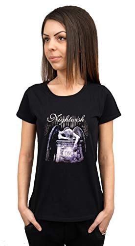 Nightwish Damen T-Shirt Schwarz Schwarz  Gr. XXL, Schwarz