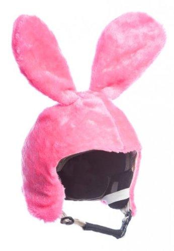 Skihelm-Verkleidung: Skihelmcover, Hase, pink