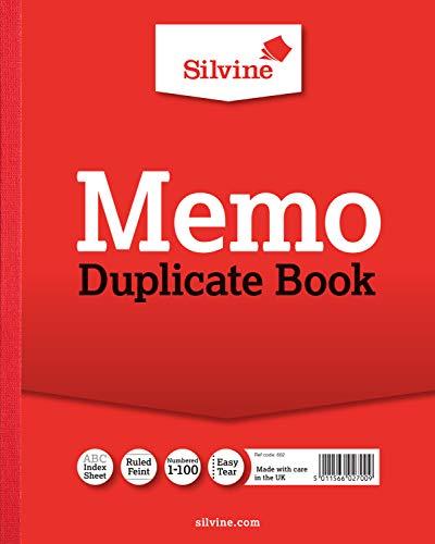 Silvine Ref 10x 8, duplicado libro