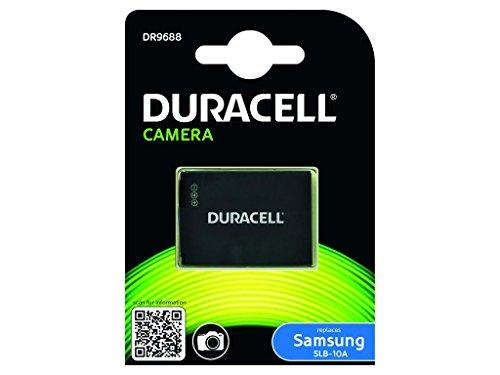 Duracell DR9688 - Batería para cámara Digital 3.7 V, 750 mAh (reemplaza batería Original de Samsung SLB-10A)