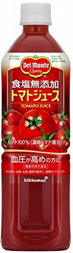 デルモンテ 食塩無添加 トマトジュース 900g×12本 PET