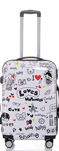 Loves Valise à roulettes rigide 3 pièces au choix – XL, L ou M trolley 4 roues, XL-Light, multicolore (Multicolore) - BEI-V2060-LO