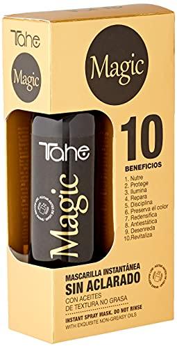Tahe Magic Mascarilla Instantánea Intensiva en Spray con Extractos Naturales y Exquisitos Aceites de Textura No Grasa, 125 ml