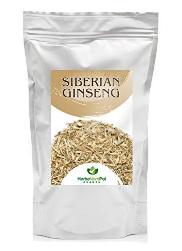 HerbaNordPol Taigawurzel / Sibirischer Ginseng Tee, geschnitten, 2-3 cm, Eleutherococcus senticosus 500g