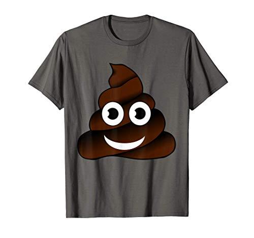 Caca Emoji Caca Emoticon Cara Sonriente Divertida Camiseta