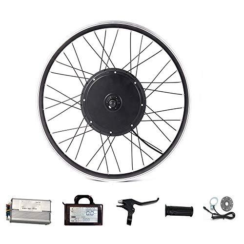SPORTS Drive 48V Bicicleta eléctrica Kit de conversión Frontal y Posterior de...