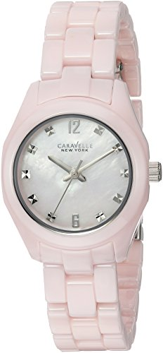 Caravelle New York Women's 45L165 Swarovski Crystal Ceramic Watch
