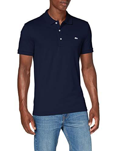 Lacoste Herren Poloshirt, Blau (Marine), Medium (Herstellergröße: 4)