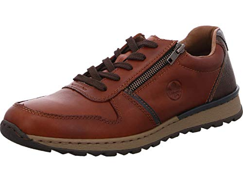 Rieker Herren B2510 Sneaker, Braun (Nut/Ozean/Toffee 26), 41 EU
