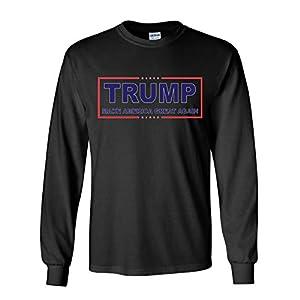 Trump Make America Great Again Long Sleeve T-Shirt MAGA 2020 USA President Tee