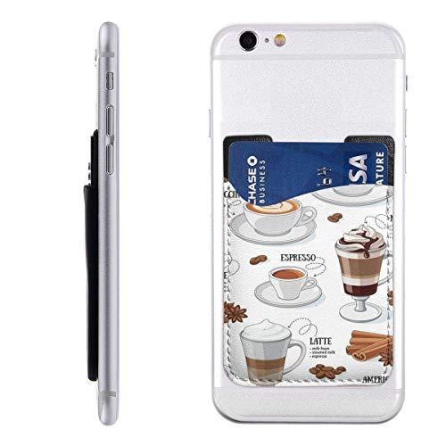 Interieur Shop, portemonnee voor mobiele telefoon, creditcardvak SleeveCafe, verschillende soorten koffie, koffie, dessert Mocha Americano