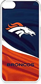 Skinit NFL Denver Broncos iPod Touch 6th Gen LeNu Case - Denver Broncos Design - Premium Vinyl Decal Phone Cover