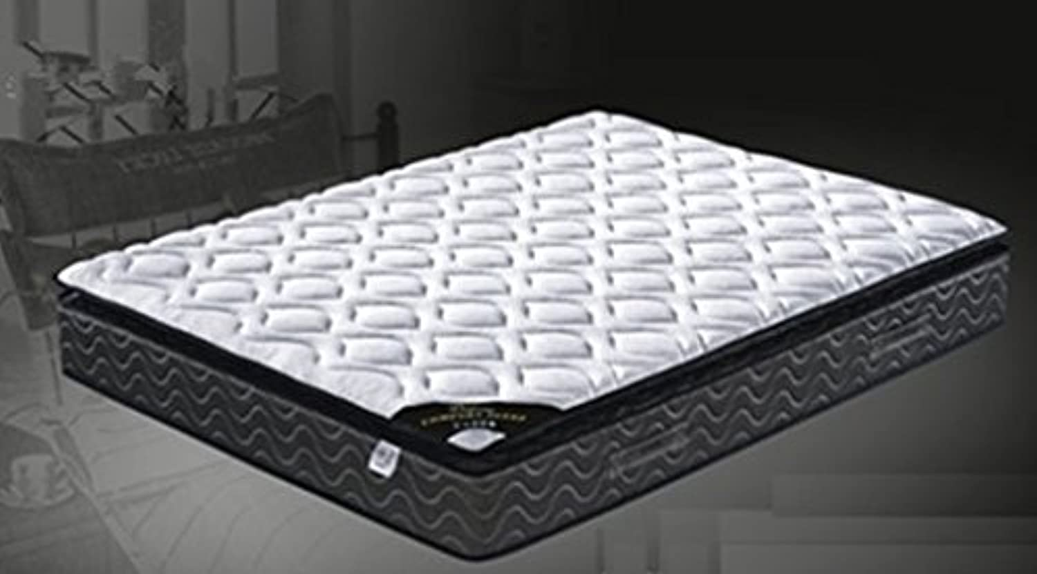 Priceworth Luna1580 Continuous Spring Pillow Top Matterss(Single, Double, Queen) (Single Size)