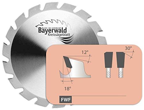 Bayerwald - HM cirkelzaagblad - Ø 450 mm x 4,2 mm x 30 mm | vlaktand met afschuining (32 tanden) | combinatiegaten | nagelvast voor extreme gebruik op bouwplaatsen